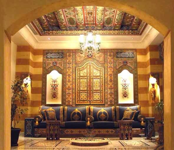 Old House Damascus With Images Oriental Interior Islamic