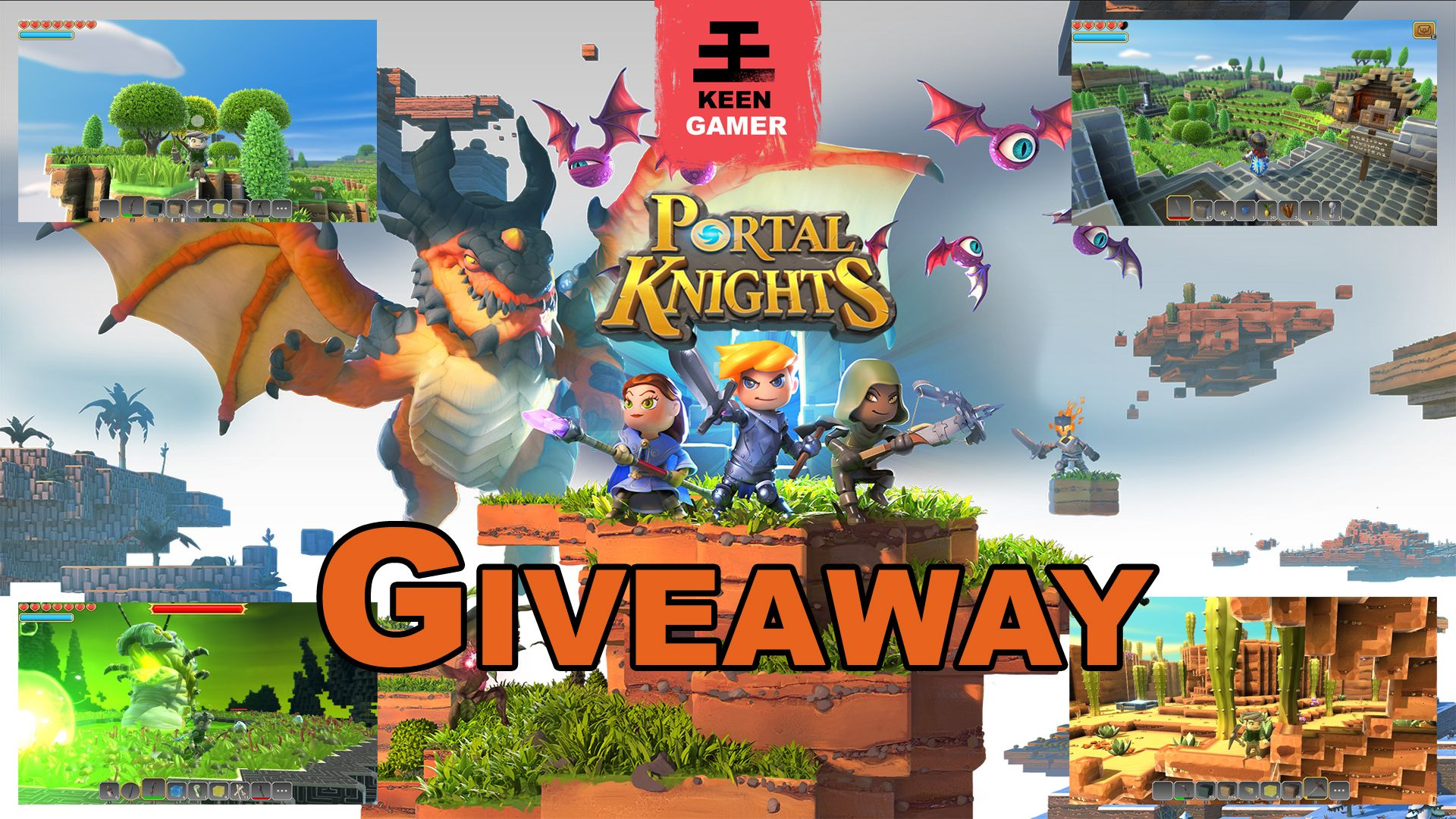 Portal knights giveaway portal and knight