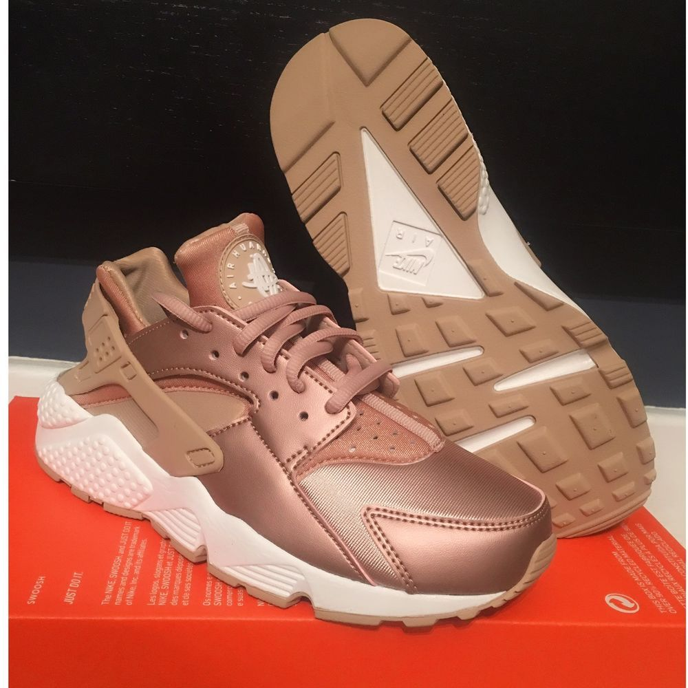 d1f4e4265d2c Nike Air Huarache Run SE Rose Gold Metallic Red Bronze Elm 8 Sneakers 859429  900  Nike  Running