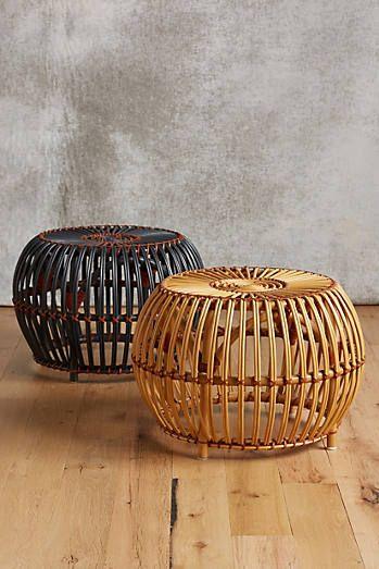 Susila Rattan Otomano | Sillones Bambu | Pinterest | Rattan, Bambú y ...