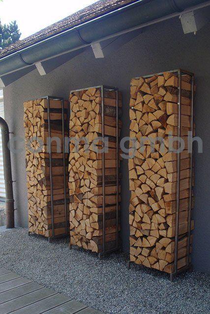 Brennholz lagern ideen wohnzimmer garten  https://www.google.at/blank.html ähnliche tolle Projekte und Ideen ...