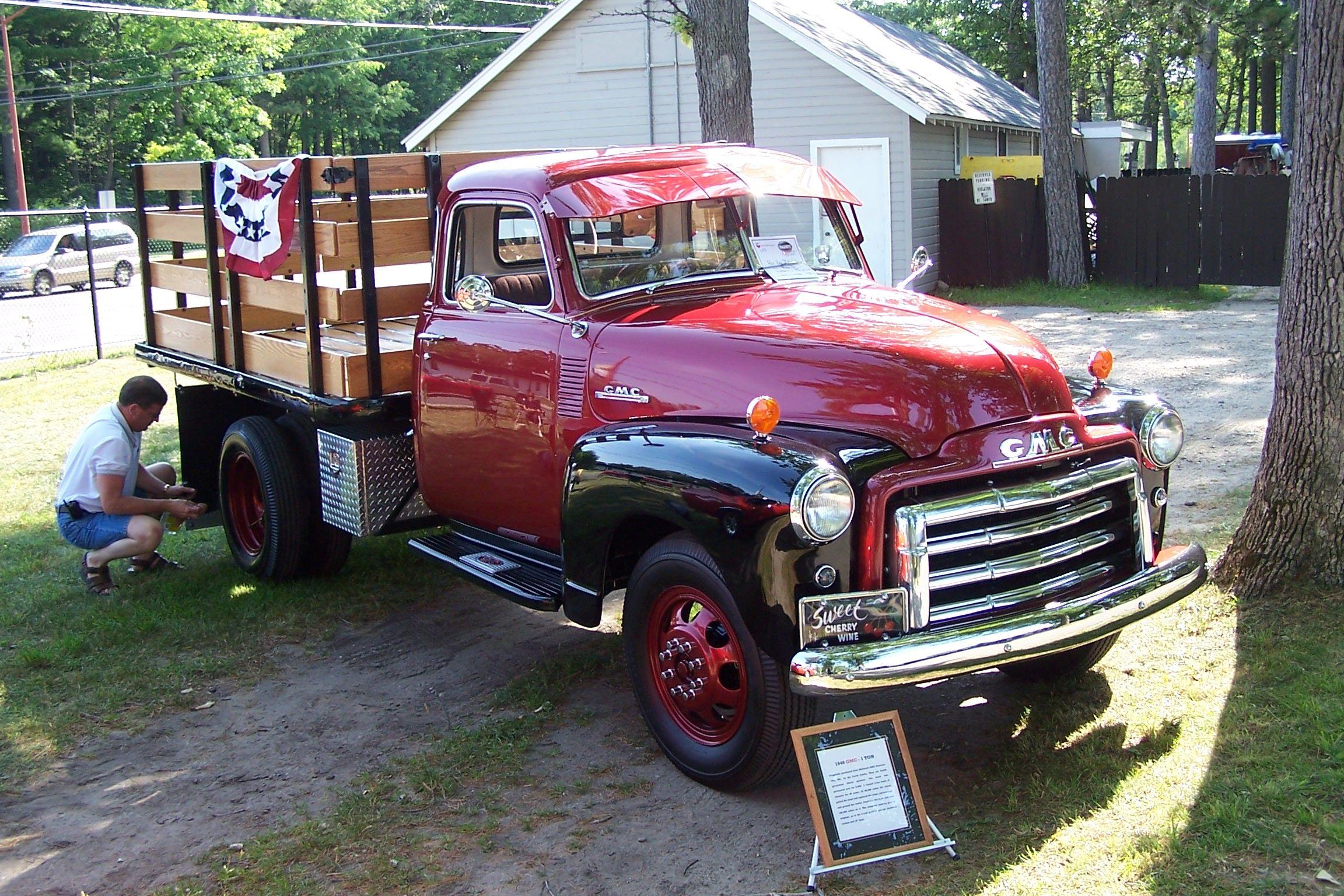 1948 GMC 1 Ton Stake Truck