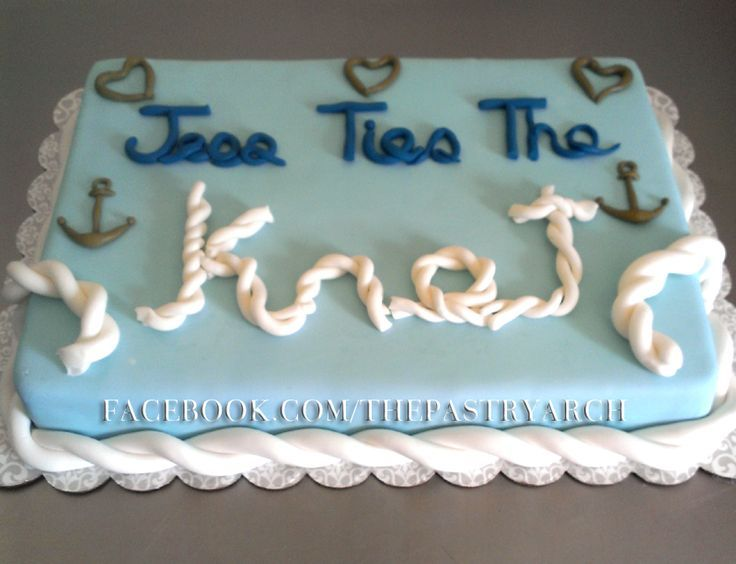 lake theme bridal shower decorations the italian wedding cake was for a nautical themed bridal shower