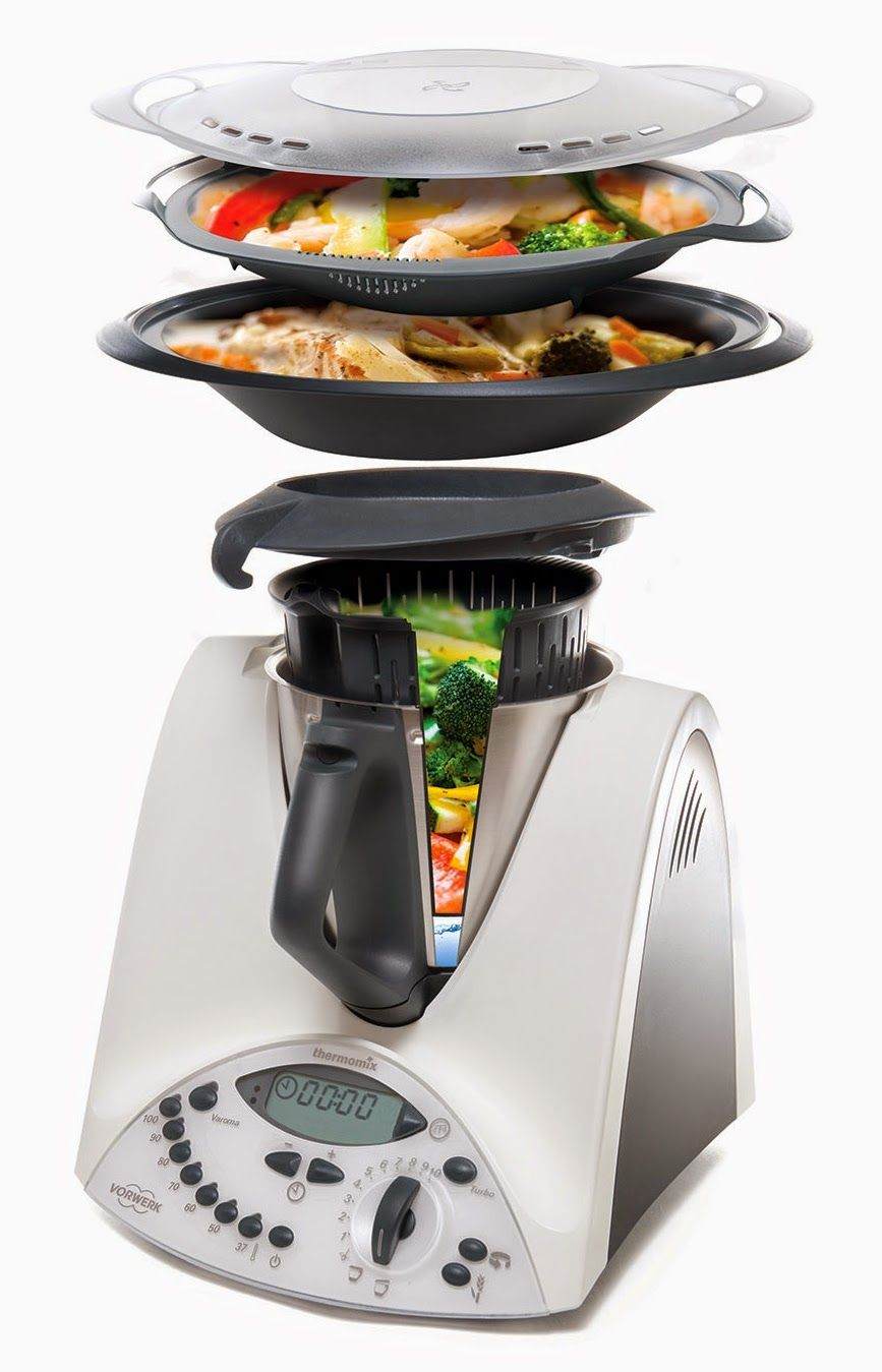 Cooking in levels translation for Comparaison thermomix cooking chef