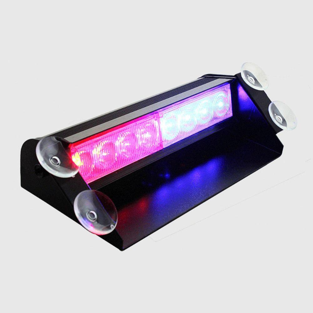 8LED 8 LED Car Truck Dash Strobe Flash Light Emergency