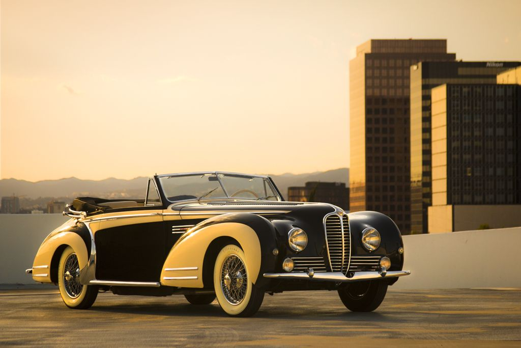 1953 DELAHAYE Type 178 Cabriolet by Chapron | Old Rides 2 ...