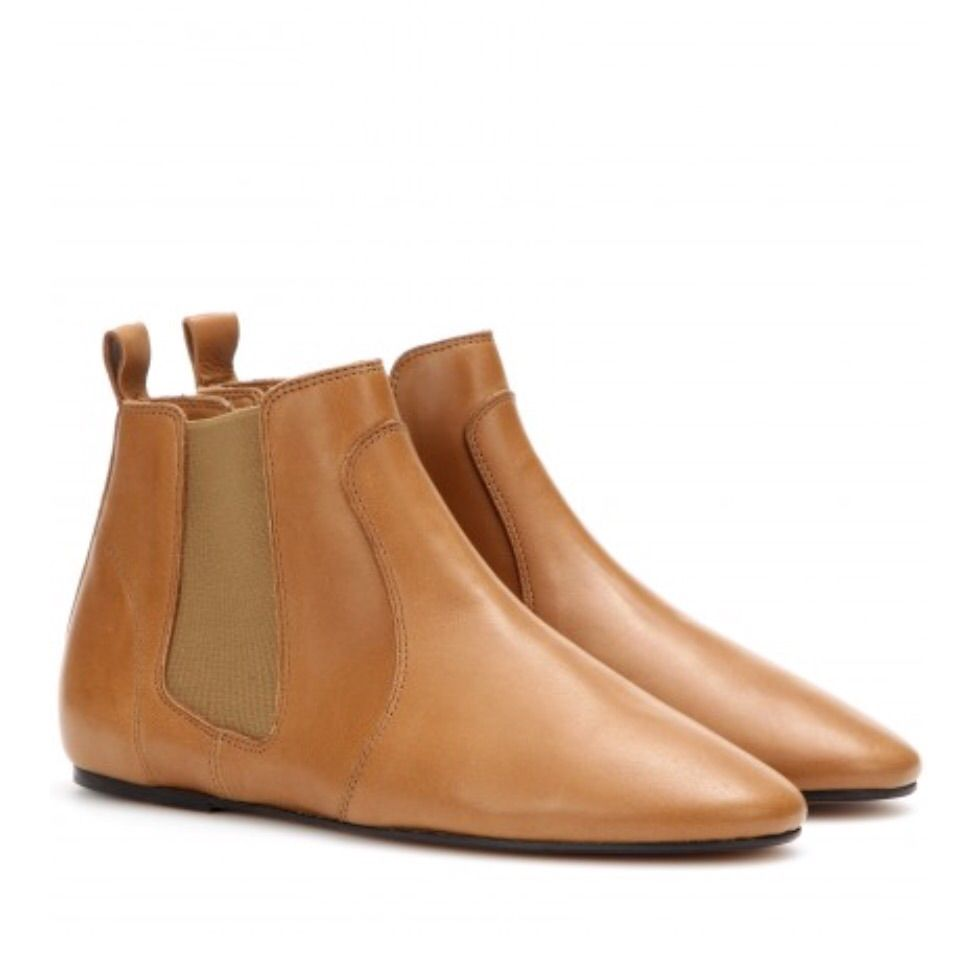 Isabel Marant Dewar Leather Ankle Boots Boots Ankle Boots