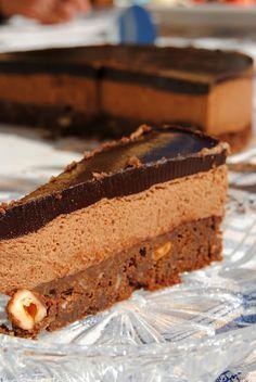 Tarta Mousse De Chocolate Con Praline Tarta De Mousse De