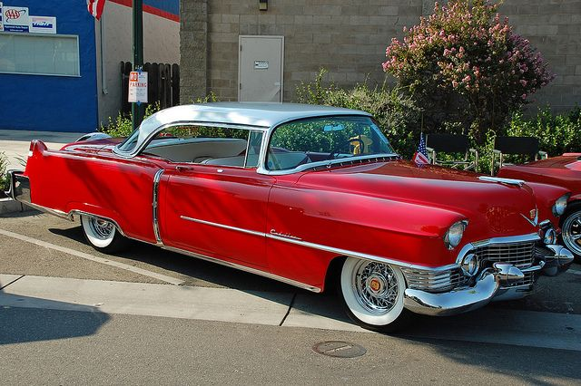 1954 Cadillac Coupe DeVille..Re-pin brought to you by agents of #carinsurance at #houseofinsurance in Eugene, Oregon