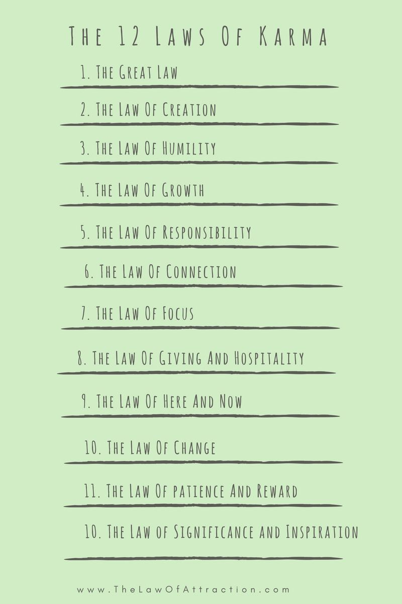 Cause And Effect Meaning The 12 Laws Of Karma List Law Of Karma 12 Laws Of Karma Karma Quotes