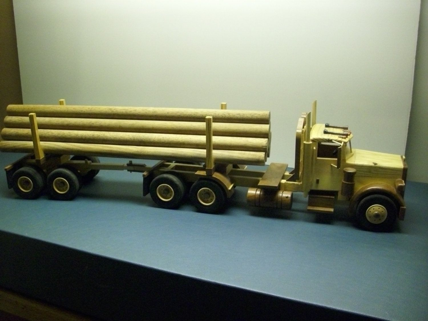 Wooden Logging Truck By Kathysparlor On Etsy 150 00