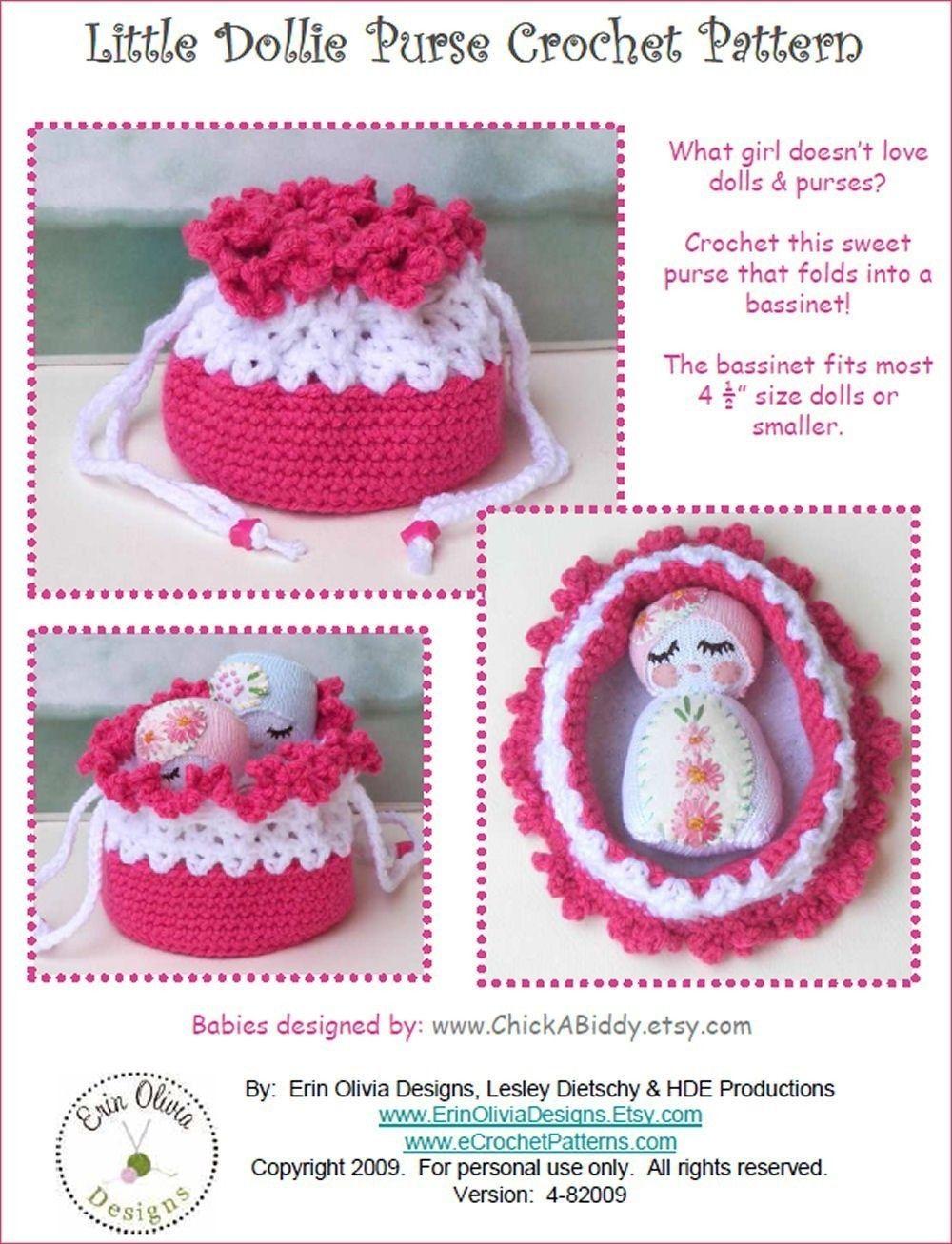 Crochet Cradle Bassinet Purse Pattern « BeadedSocks by Daisy Designs ...