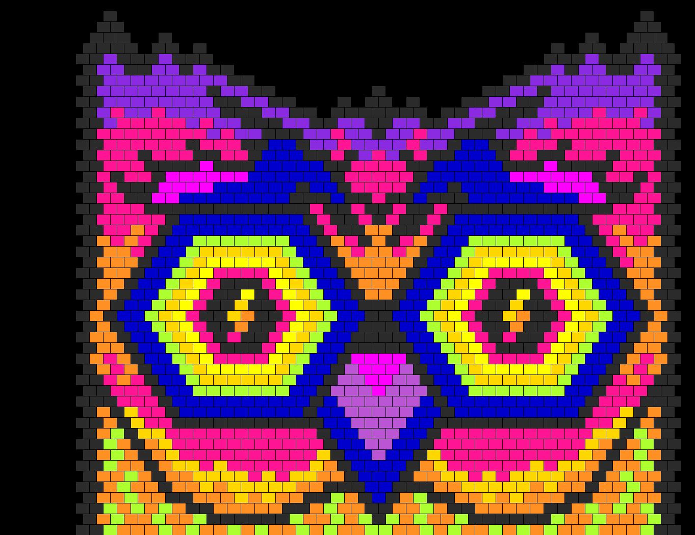 EDC Owl Bead Pattern