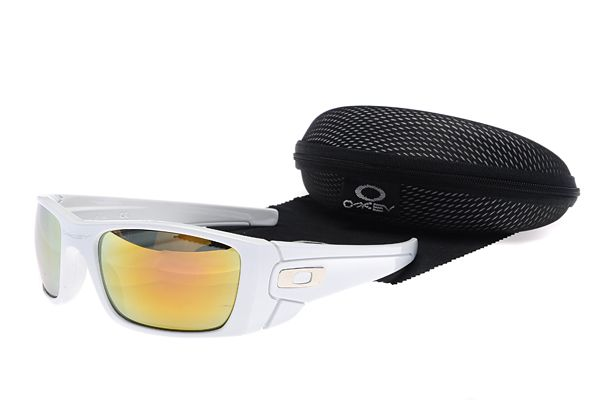 $13.99 Beautiful Oakley Fuel Cell Sunglasses White Frame Brown Lens ...