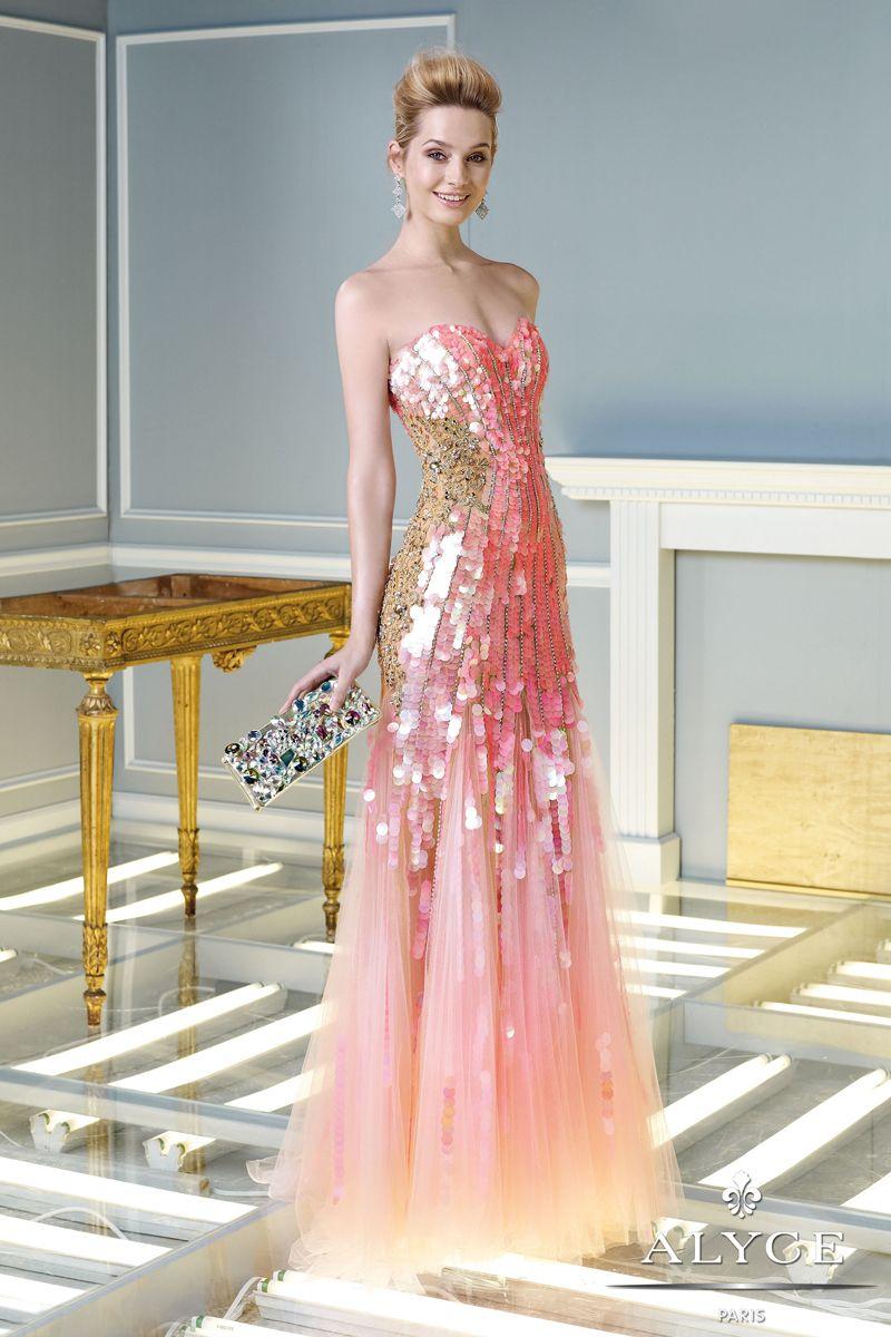 2014 Long Prom Dresses | Vestiditos, Noche y Traje