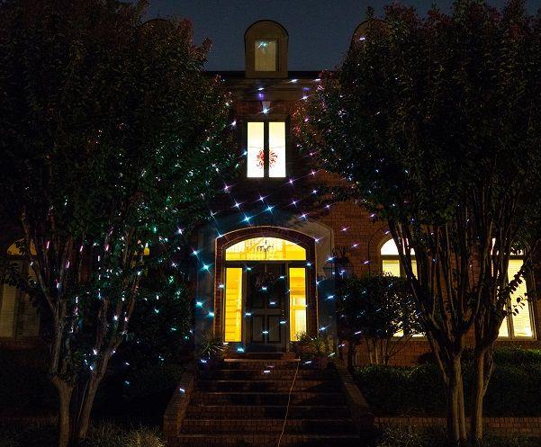 Full Spectrum Motion Star effect 7 color WHITE Laser Christmas and