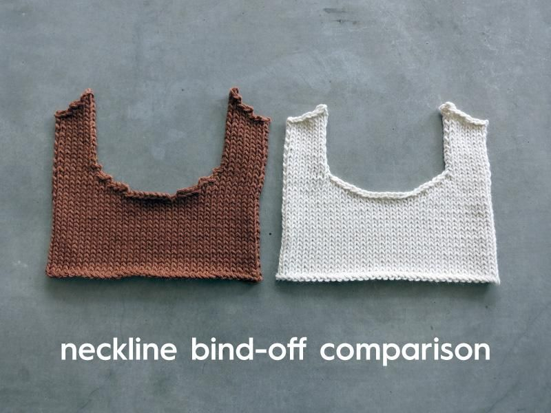 How to Knit a Tidy Neckline (BottomUp Garments) in 2020