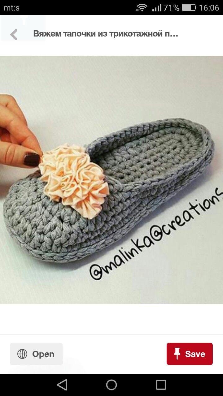 Pin de Алла en Обувь | Pinterest | Zapatos tejidos, Bebes adultos y ...