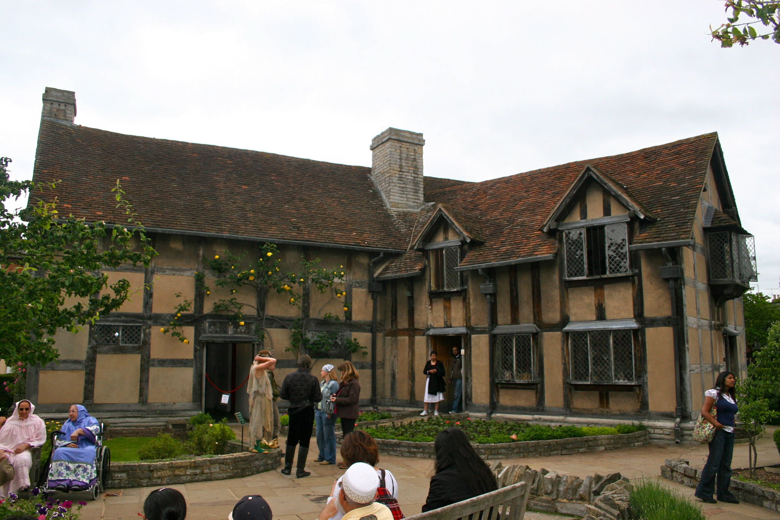 Stratford Upon Avon UK Shakespeares Birthplace William Shakespeare Was Born In 1564 And Spent His Childhood Years