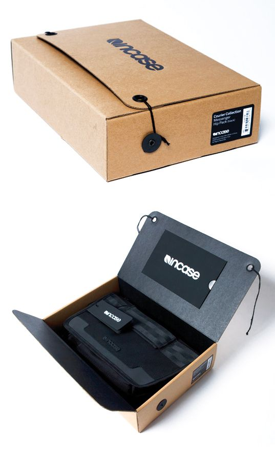 This box design has a very simplistic look to it, however it works ...