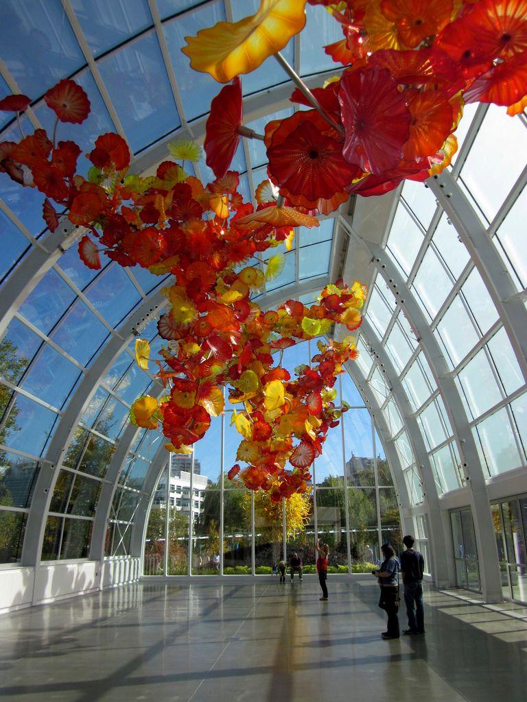 Seattle Center Garden And Gl Museum