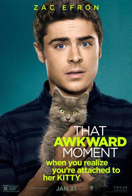 """Personagens são destaque nos cartazes do filme """"That Awkward Moment"""" http://cinemabh.com/imagens/personagens-sao-destaque-nos-cartazes-do-filme-that-awkward-moment"""