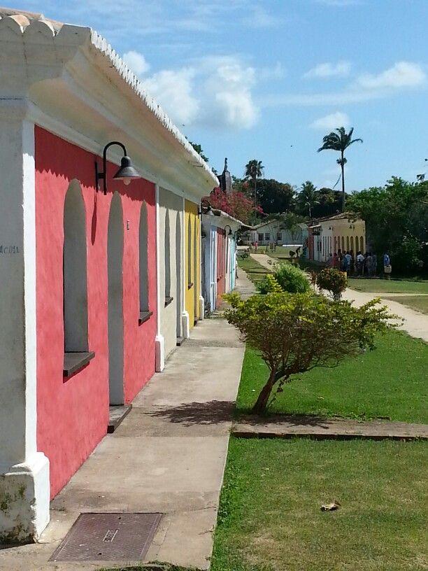 Casario em Cabralia. Bahia