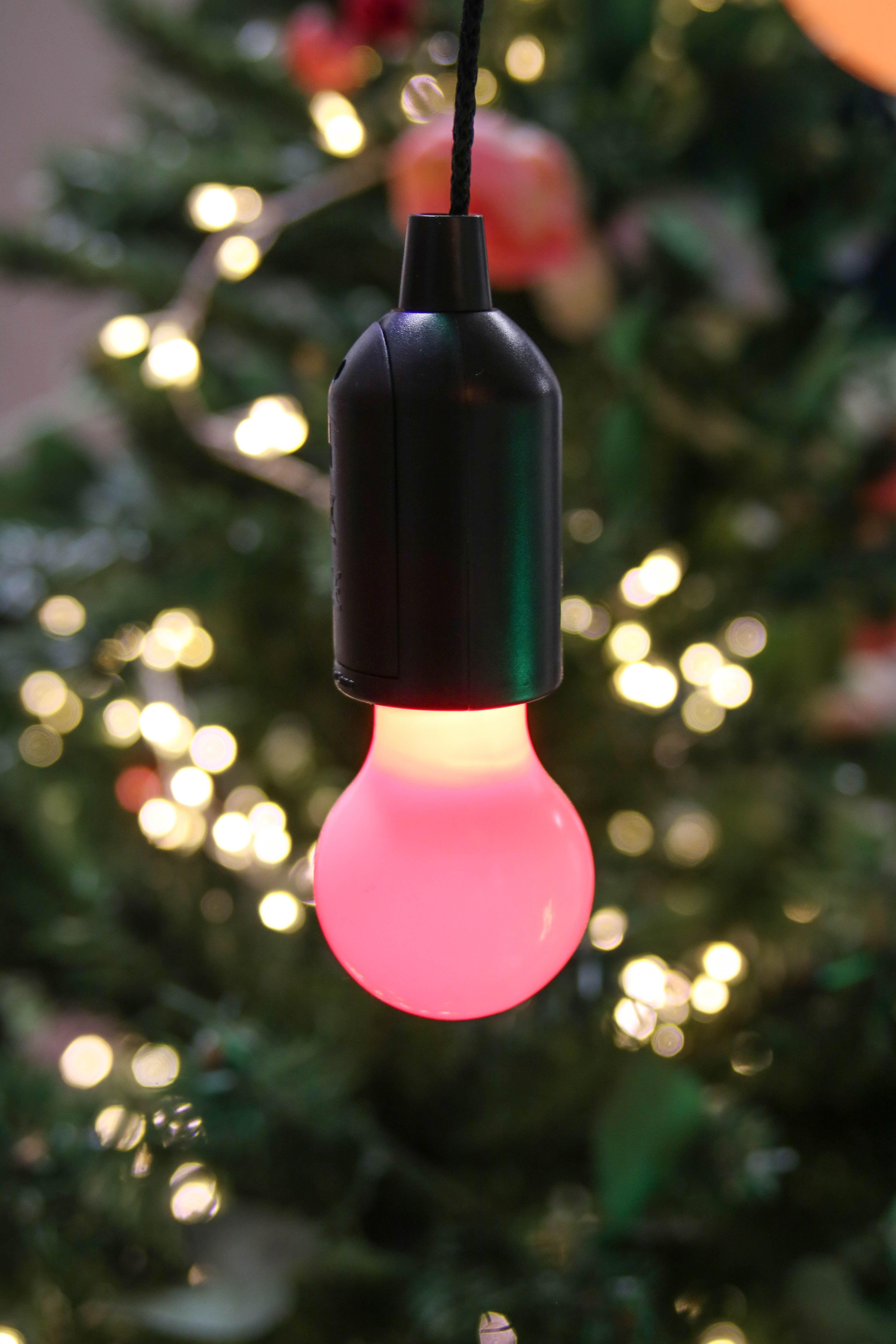 Pour Completer Votre Deco De Noel Mexicain Ampoule Rouge A Piles A