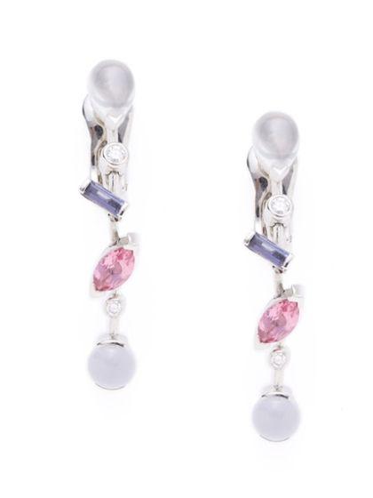 Cartier Meli Melo Gemstone Earrings by Cartier