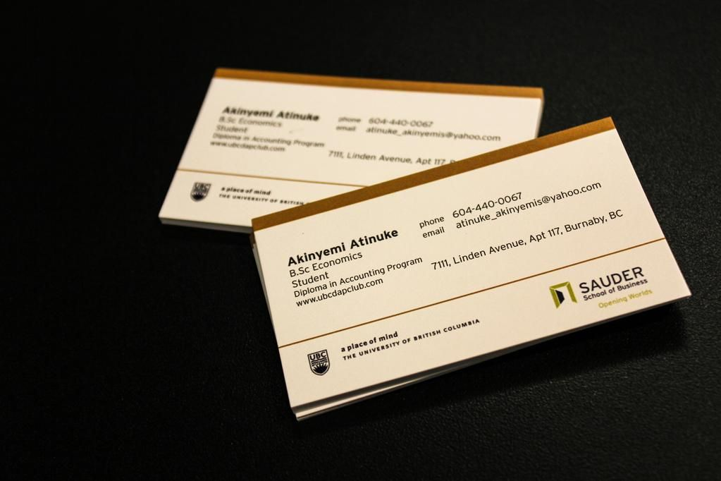 Linxprint on pinterest business cards business cards for the sauder school of business at ubc colourmoves