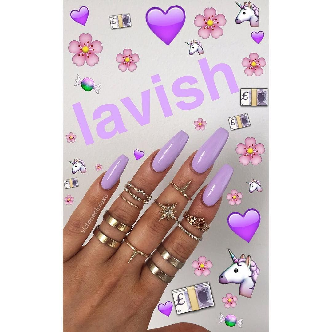 Currently wearing Lavish from @flossgloss #FLOSSGLOSS | Nails and ...