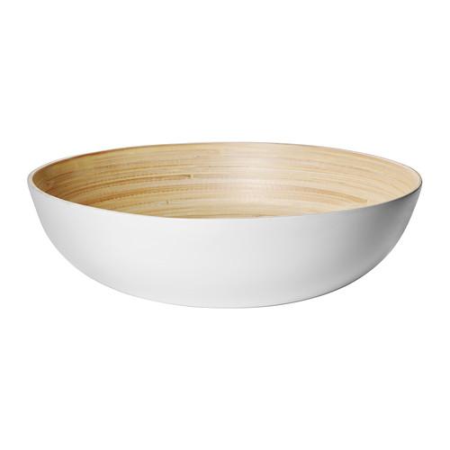 rundlig white bamboo white serving