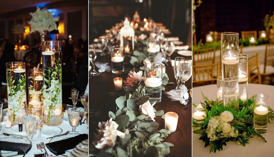 20 Floating Wedding Centerpiece Ideas Wedding Centerpieces
