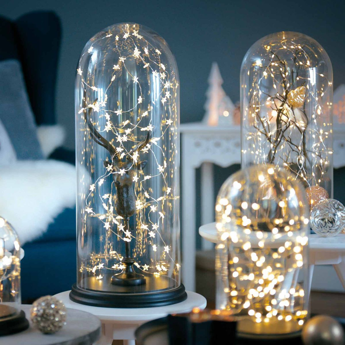 Lichterkette Strang Mini Indoor, 50 LED, L:2,6m, klar | My X-Mas ...