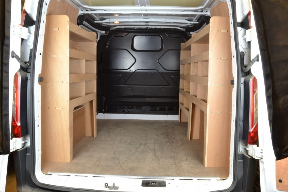 Ford Transit Custom Plywood Full Van Racking Shelving Unit