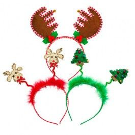 Christmas Head Bopper Christmas Competitions Christmas Themes Party Novelties