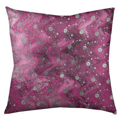Latitude Run Avicia Planets Stars Throw Pillow Size 30 X 30 Colour Pink Throw Pillows Throw Pillow Sets Pillows