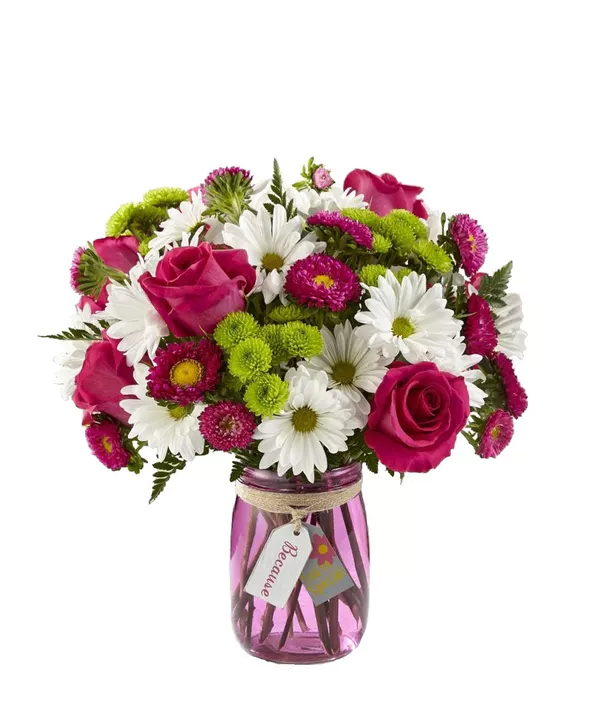 Pick A Day Any Day To Tell Someone How Special They Are To You Send Them This Bouquet Of Hot Pink Roses W Mothers Day Flowers Flower Delivery Flower Shop
