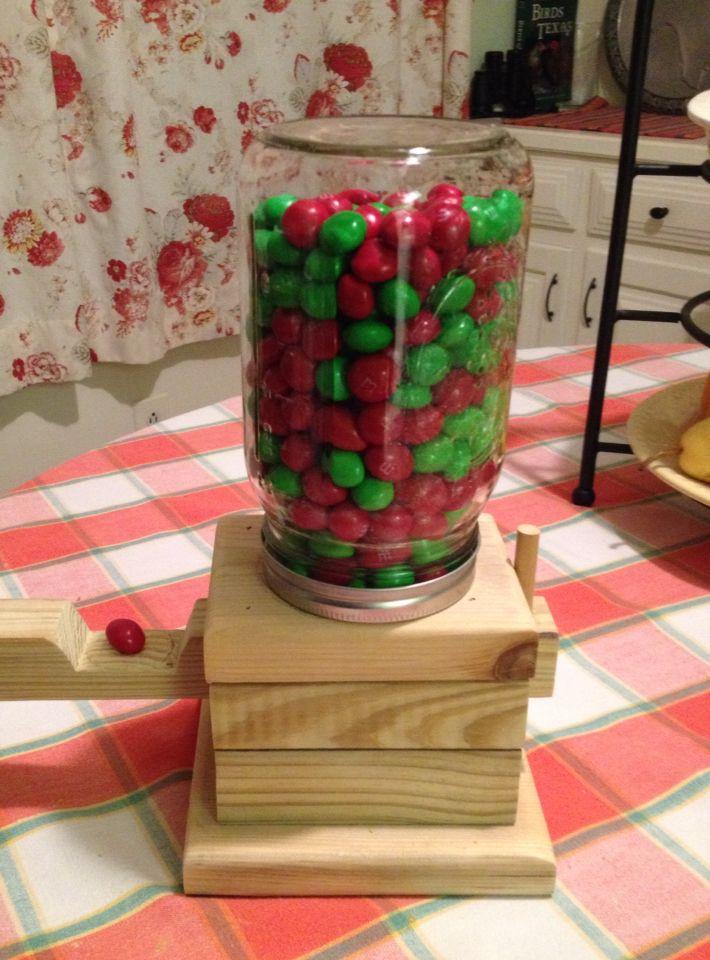 Jelly Bean, M&M, Bubble Gum dispenser...