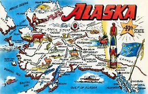Canada Alaska Border Map Map of Alaska Canada Border | map of alaska border states alaska