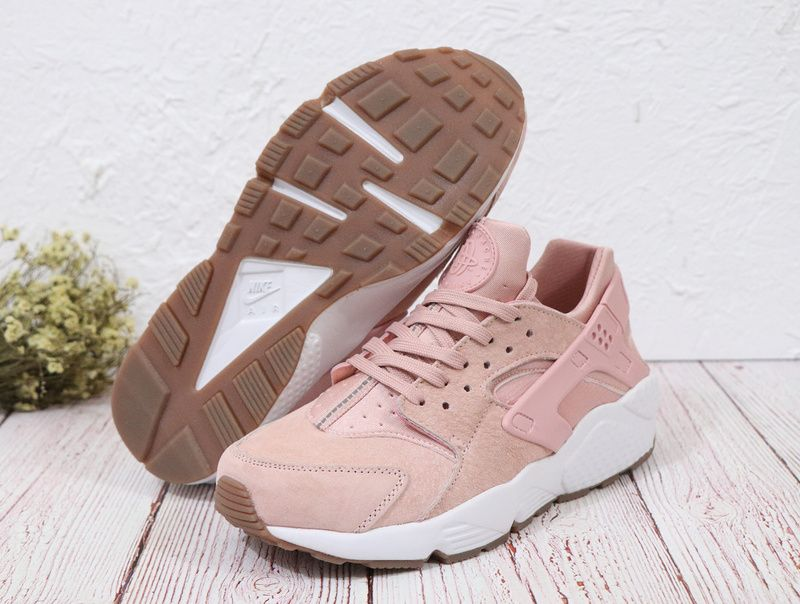 Latest Femme  Nike Air Huarache SD Particle Rose Sail Gum Light Marron