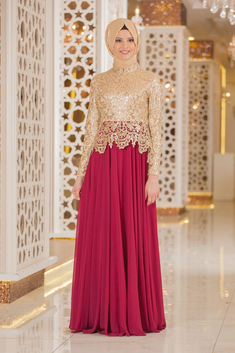 Pin by Siti Rahma on contoh baju   Pinterest   Brokat, Muslim dress ...