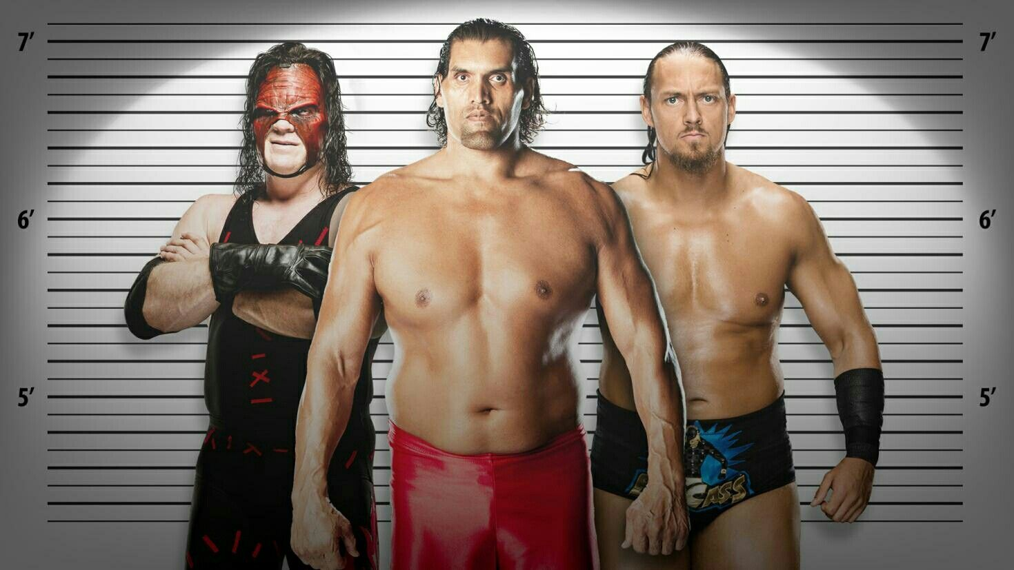 Andre The Giant And The Big Show And Big Cass And Kane And