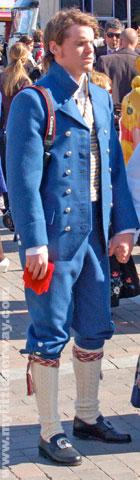 Stor Men's bunad from Nord-Trøndelag. He looks like he can't wait till BH-94