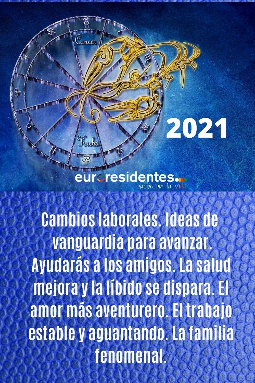 Cáncer 2021 Horoscopo Cancer Horoscopos El Cancer
