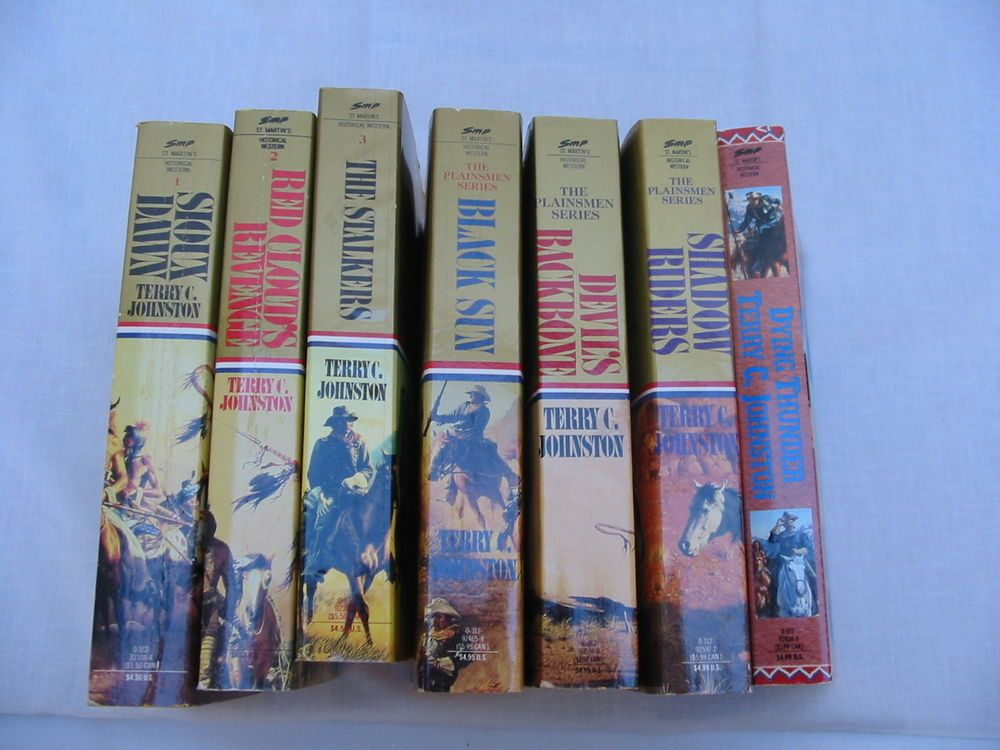 Plainsmen series by terry c johnston westerns 10 used books no books fandeluxe Document