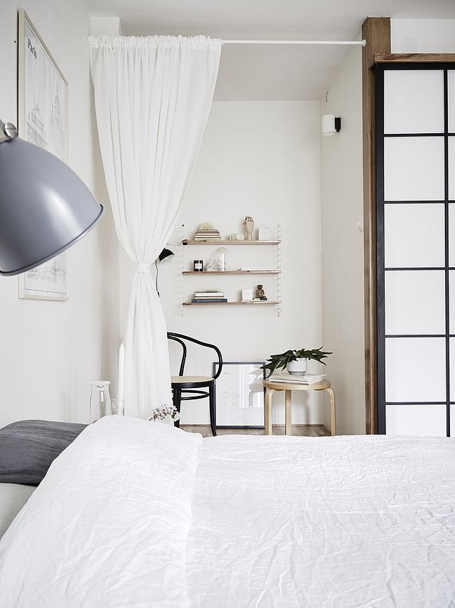 modern japanese style bedroom design 26. Mix Of Japanese And Scandinavian Style (Decordots) Modern Bedroom Design 26