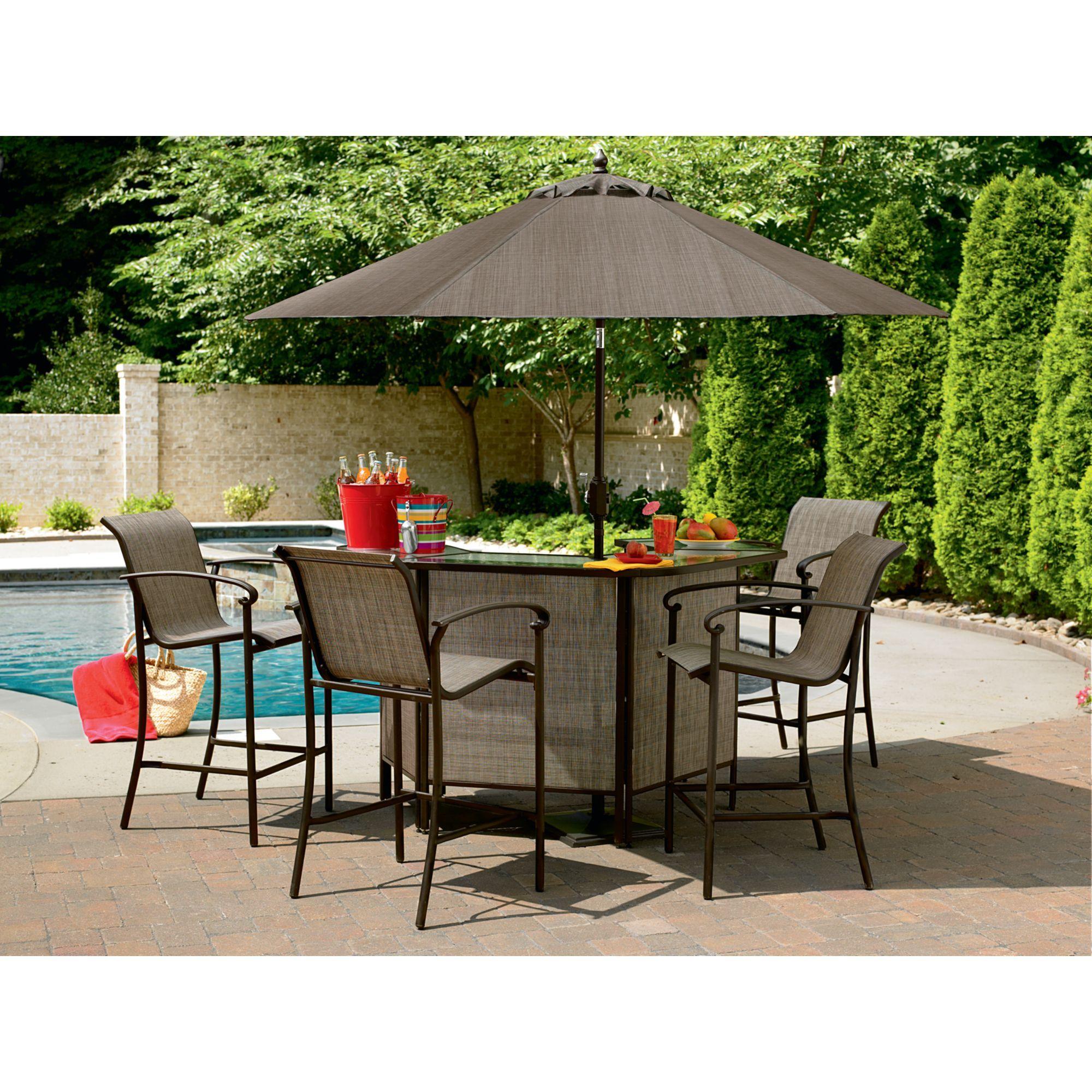 Kmart Outdoor Bar  Outdoor patio bar sets, Outdoor patio bar