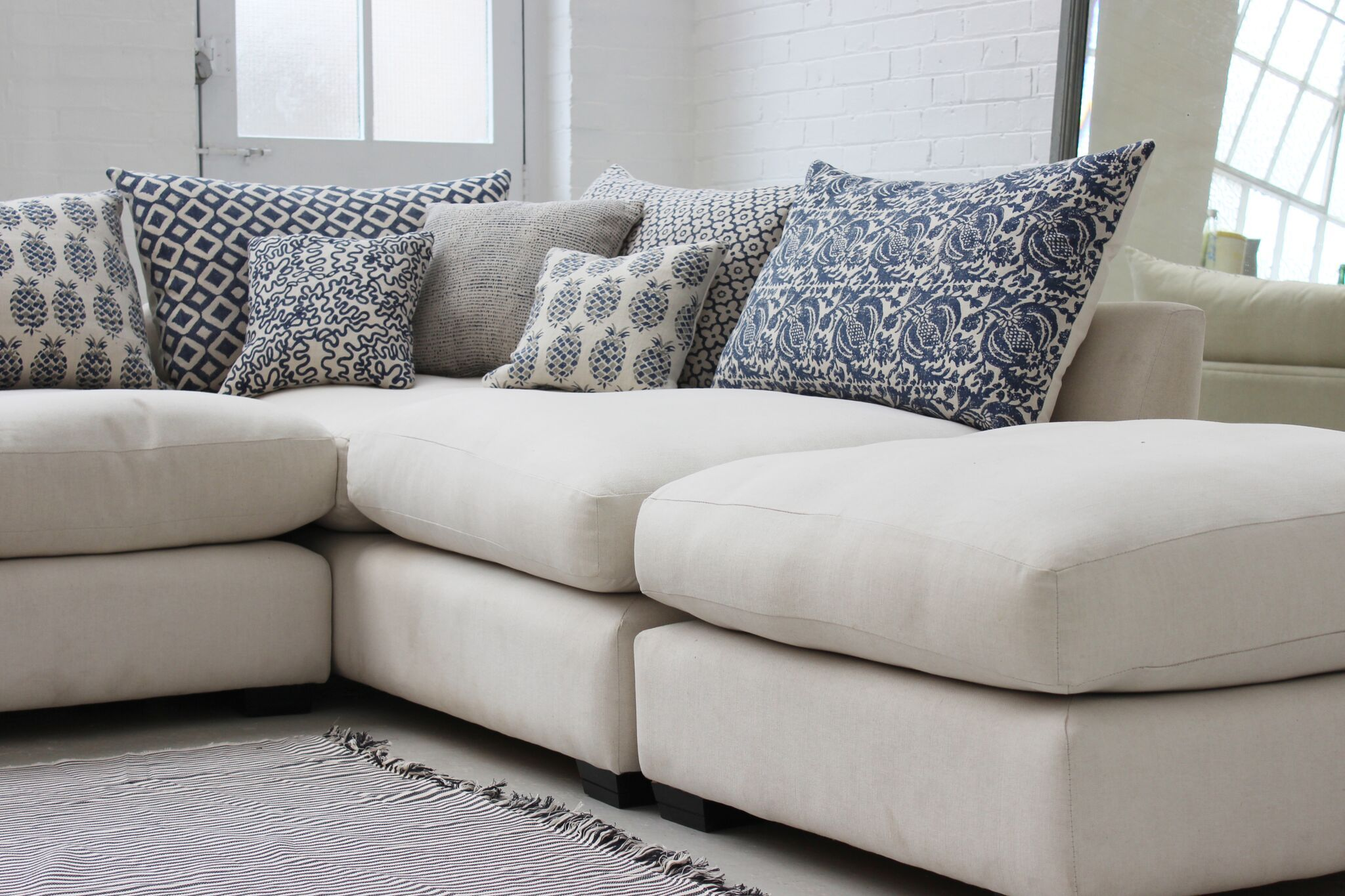 Hambledon in 2020 | Corner sofa throw, Corner sofa, Grey ...