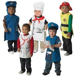 CHOOSE Child Melissa /& Doug Role Play Time Fantasy Job Dress Up Fun Set Costume